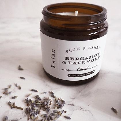 Bergamot + Lavender Mini Candle