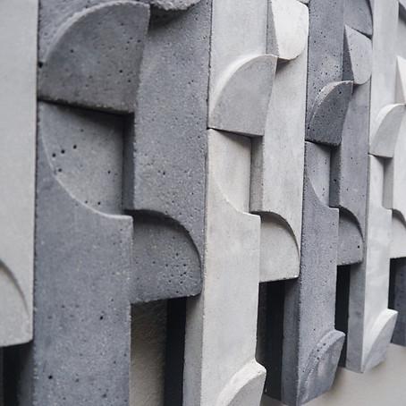 London Design Festival: STACtile at Pentagon tile showroom.