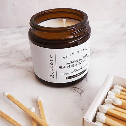 Smoked Sandalwood Mini Candle
