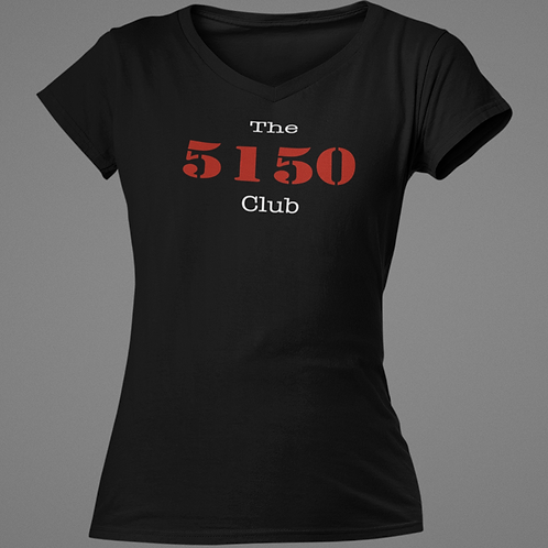 5150 Club tee