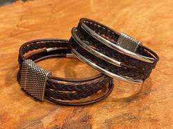 leather multi strand 1