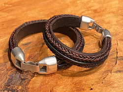 leather double braid 2