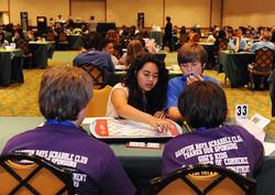 School SCRABBLE tournament play