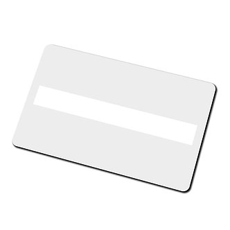 Plain Card with Signature Panel | Pack of 100