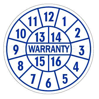 Warranty Stickers