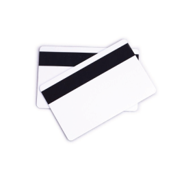 Blank PVC Card with Magnetic Strip | Pack of 100