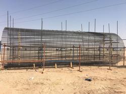 Large Diameter Steel Cage - 3330mm dia 0