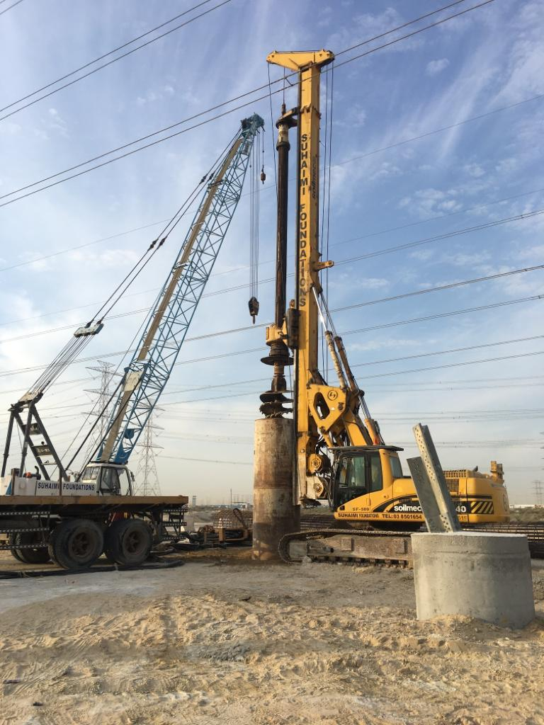 Piling Works under Shut Down