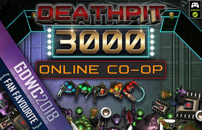 DEATHPIT3000 Title