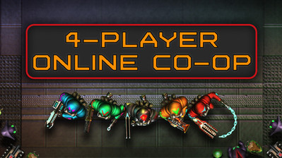 DEATHPIT 3000 now supports up to 4 players in online co-op!