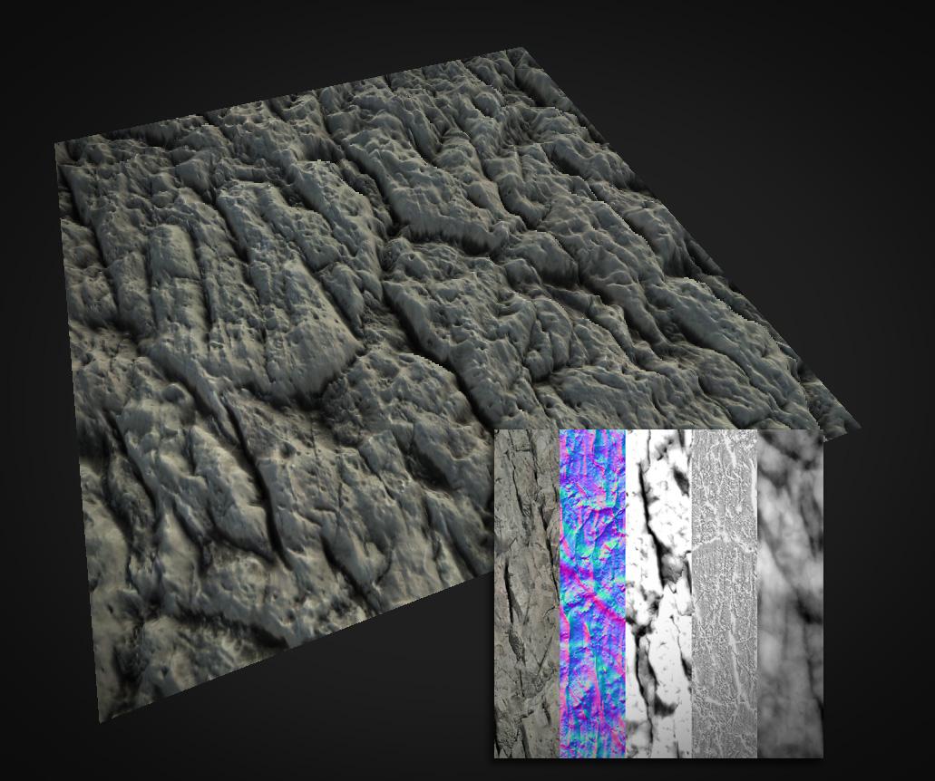 PBR Rock Material