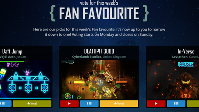 Vote for DEATHPIT 3000 in this week's Game Development World Championship 2018 fan favourite com