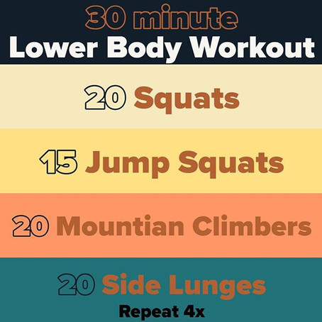 Workout For 03/20/2020