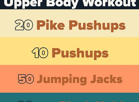 Workout For 03/19/2020