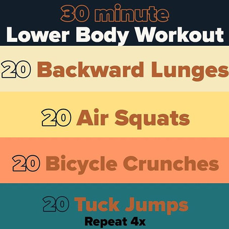 Workout For 03/21/2020