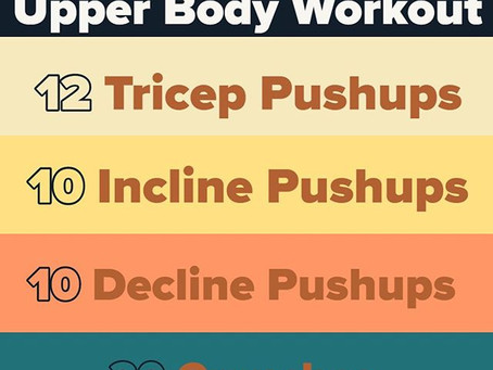 Workout for 03/22/2020