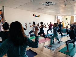 Yoga at Nourishing Storm