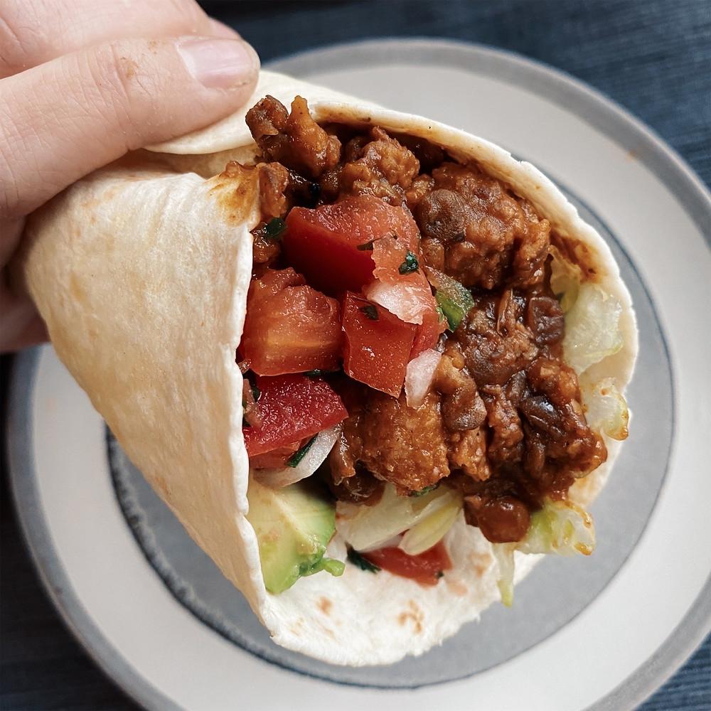 Bangin' Bean Burritos