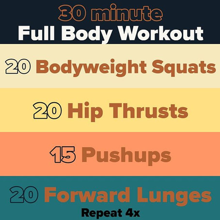 Workout for 03/23/2020