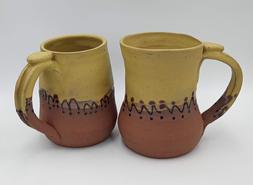 Ochre cups