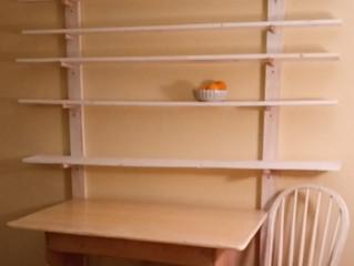 Gallery Shelves for the Studio
