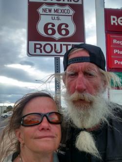 Jim and Jodi Getting' Kicks Route 66