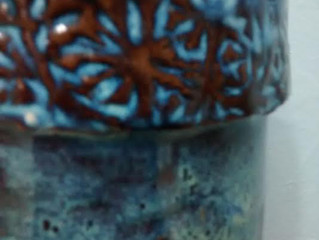 I photographed some of my pottery today...