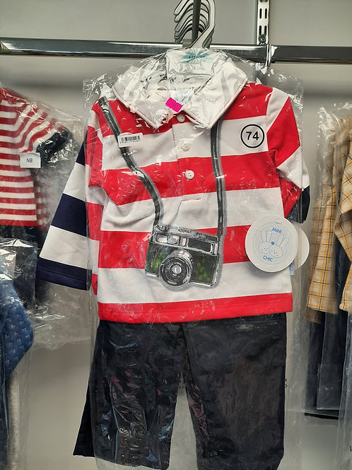 Mini chic boys outfit