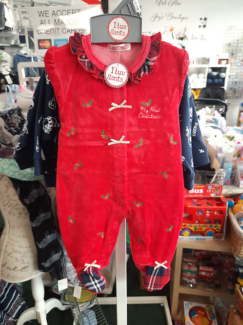 I love Santa outfit