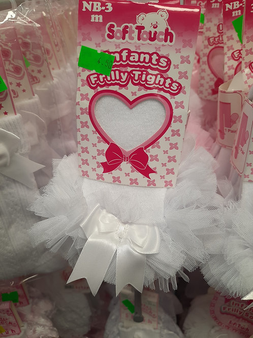 Infants Frilly Tights