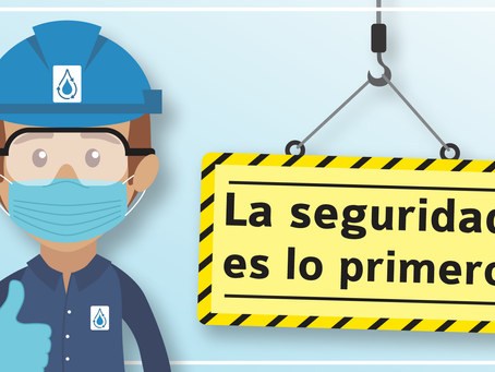 La seguridad es lo primero