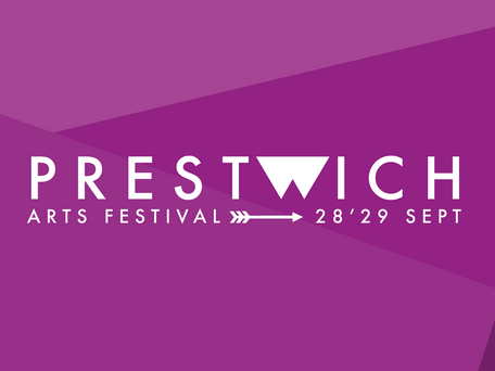 New look for Prestwich Arts Festival!