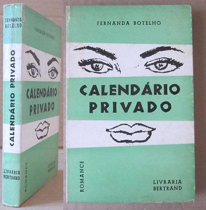 BOTELHO (FERNANDA) - CALENDÁRIO PRIVADO