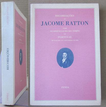 RATTON (JACOME) - RECORDAÇÕES DE JACOME RATTON
