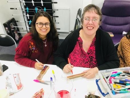 Friendship Circle take part in community art trail