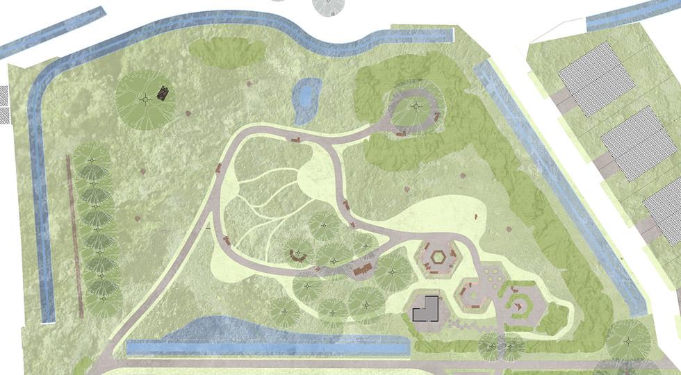 Belevingstuin: natuurlijk park