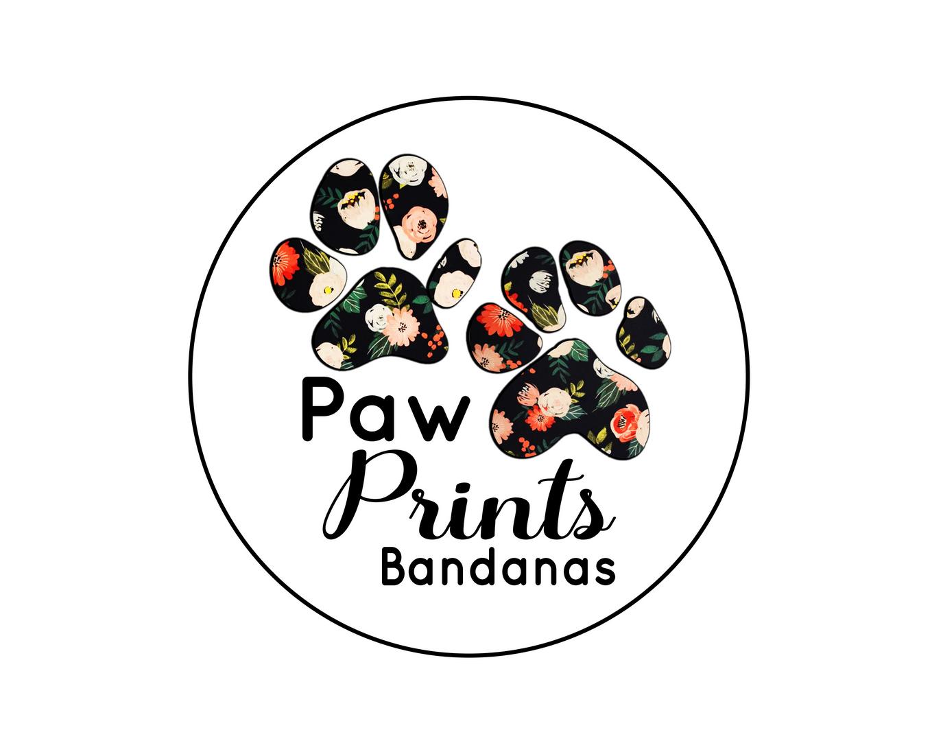 PawPrints Bandana