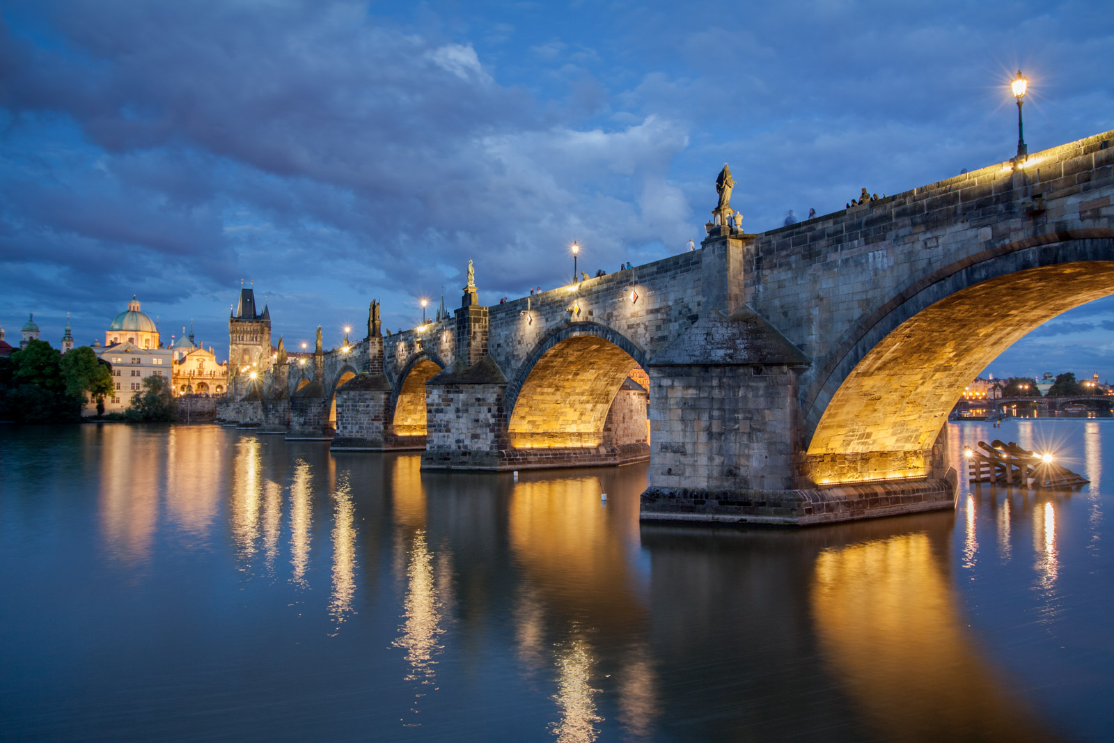 Evening - Charles Bridge