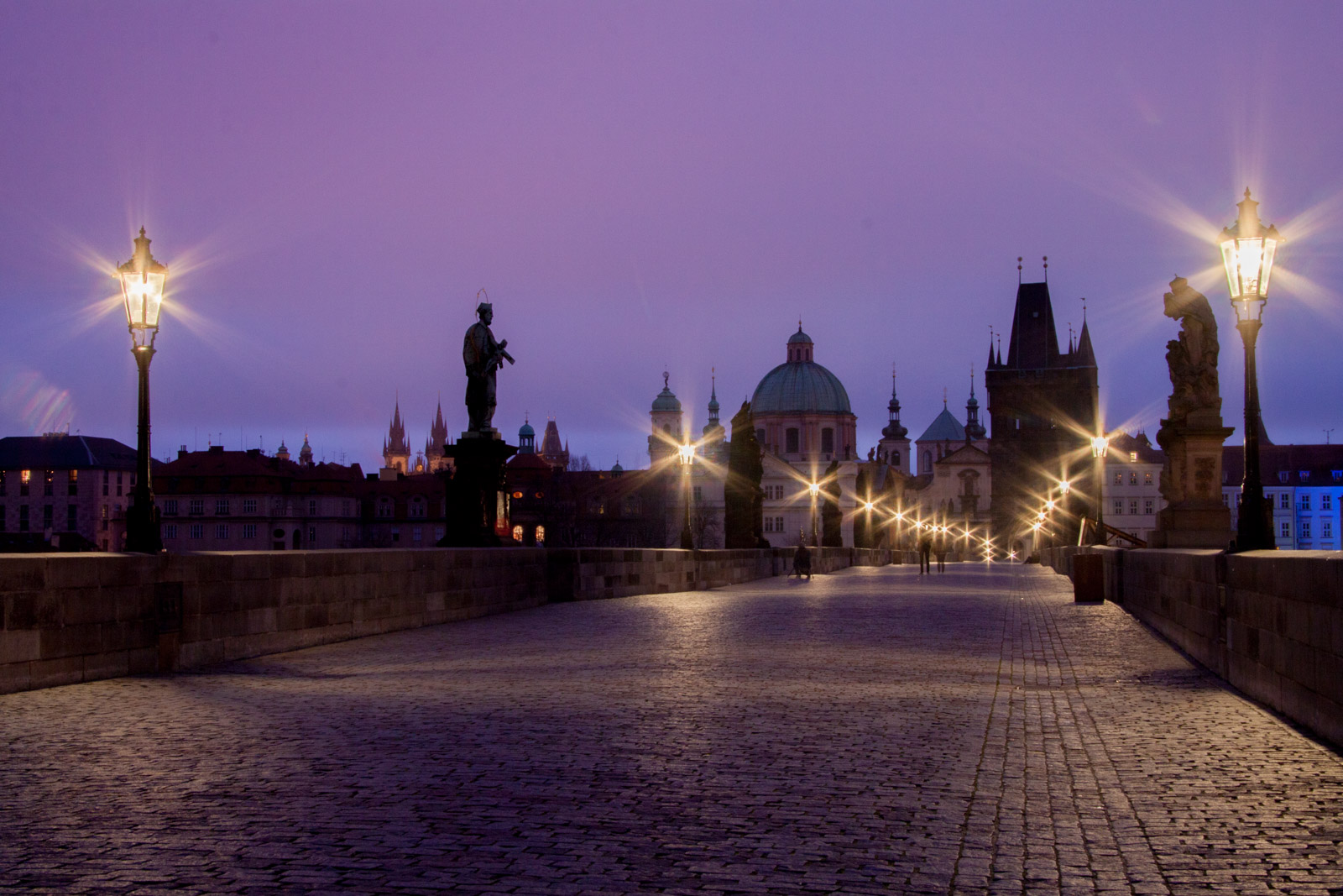 morning - charles bridge