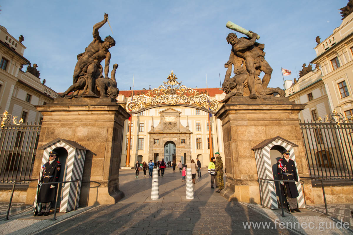 Gate of the Battling Titans - Prague Cas