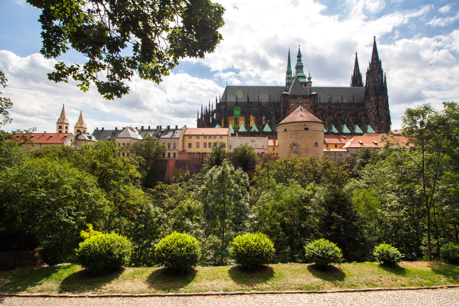 gardens of prague castle
