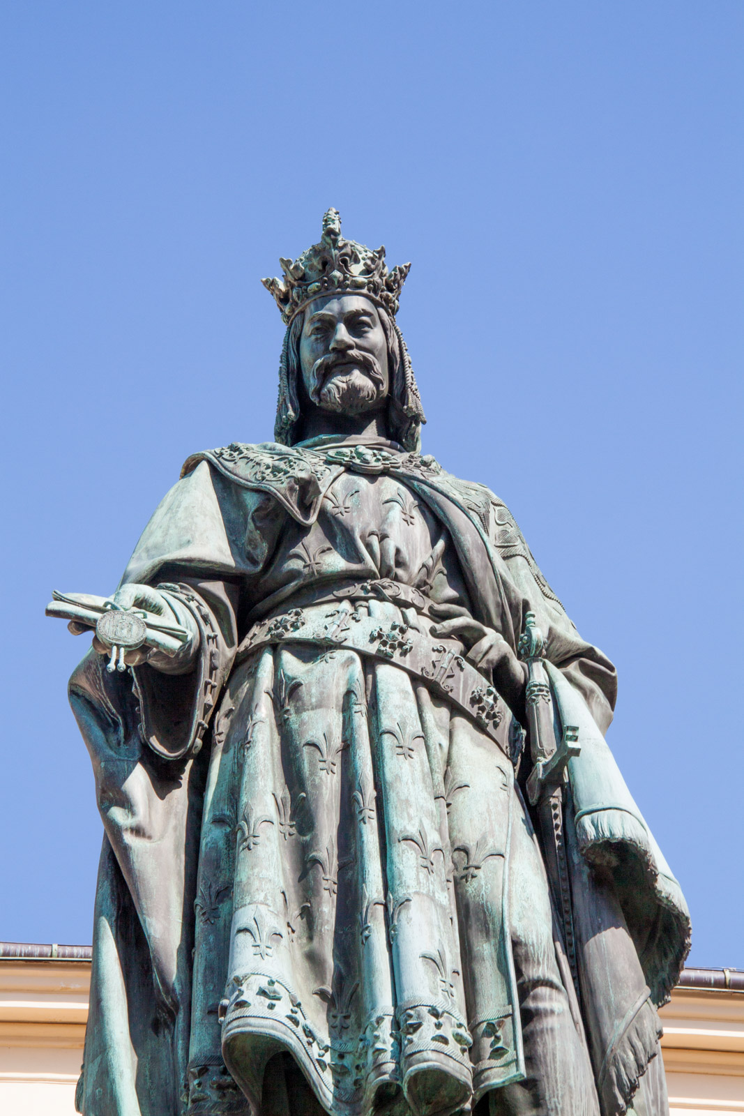 statue of charles IV.