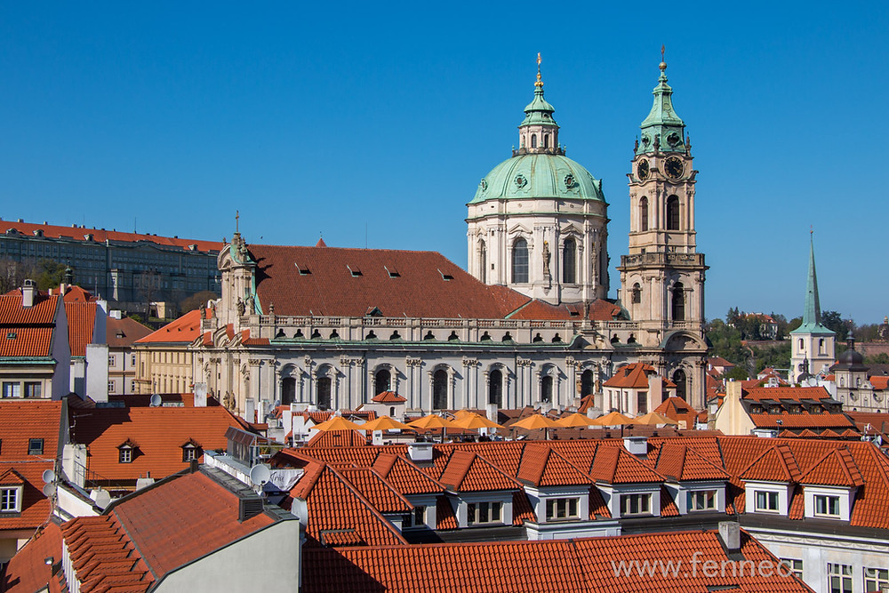 Baroque Church of st. Nicholas in Prague