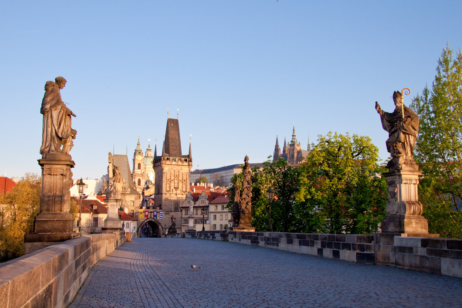 sunrise - charles bridge