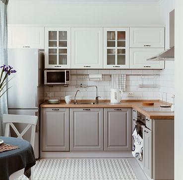Cozinha Cinza Branca