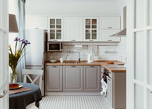 White Grey Kitchen