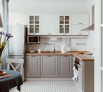 White Grey Kitchen