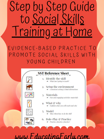 Step by Step Guide to Social Skills Training at Home