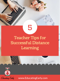 5 Teacher Tips for Successful Distance Learning