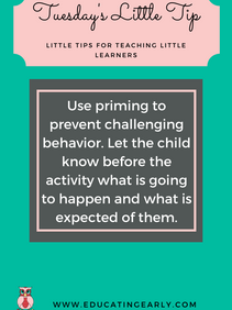 "Use ""Priming"" to Decrease Problem Behavior"